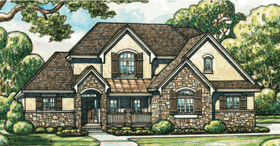 Houses 4 sale macomb mi 2 story for Two story french country house plans
